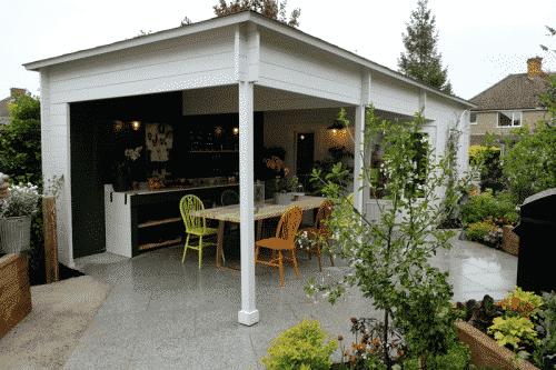 Sophia Cabin Veranda