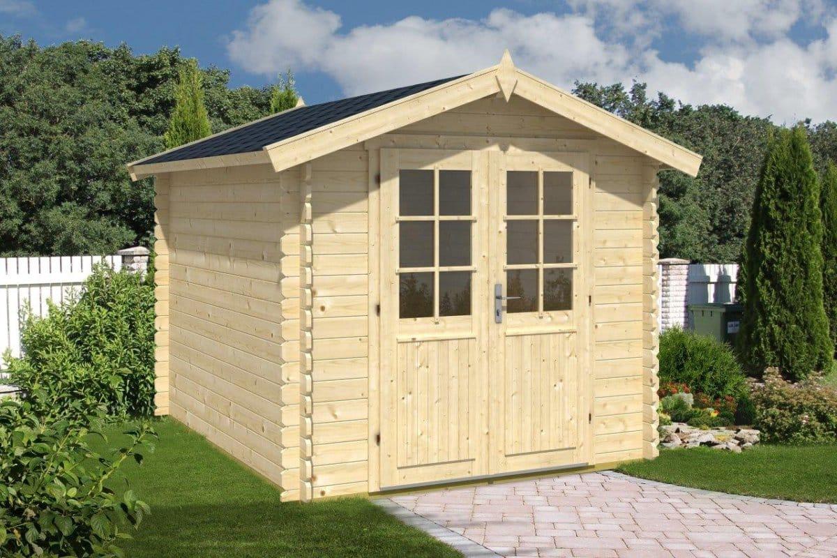 10x8 shed anita l 6 2m 28mm 2 5 x 3 m summer house 24. Black Bedroom Furniture Sets. Home Design Ideas
