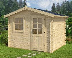 Log Cabin Summer House Anke-XL
