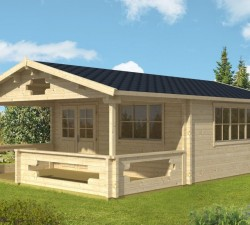 Stylish garden rooms and garden summer houses uk for great prices - Garden summer houses with verandas ...