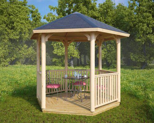 Hexagonal Canopy Gazebo Elizabeth