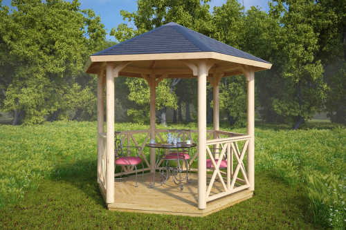 Hexagonal Canopy Gazebo Lotte