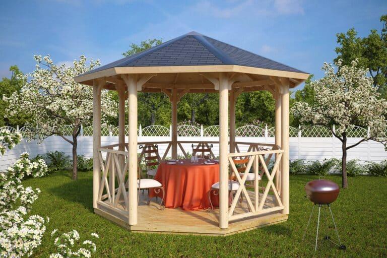 Octagonal Garden Pavilion Lotte L
