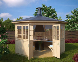 Garden BBQ Hut Festival L