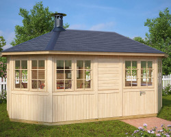 Large Garden BBQ Hut Albatross