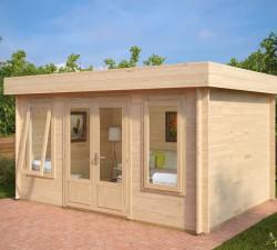 Medium Sized Garden Log Cabins