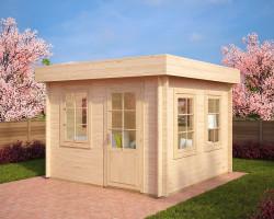 Modern Log Cabin Lucas C
