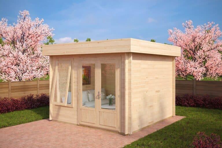 Modern Log Cabin Lucas D