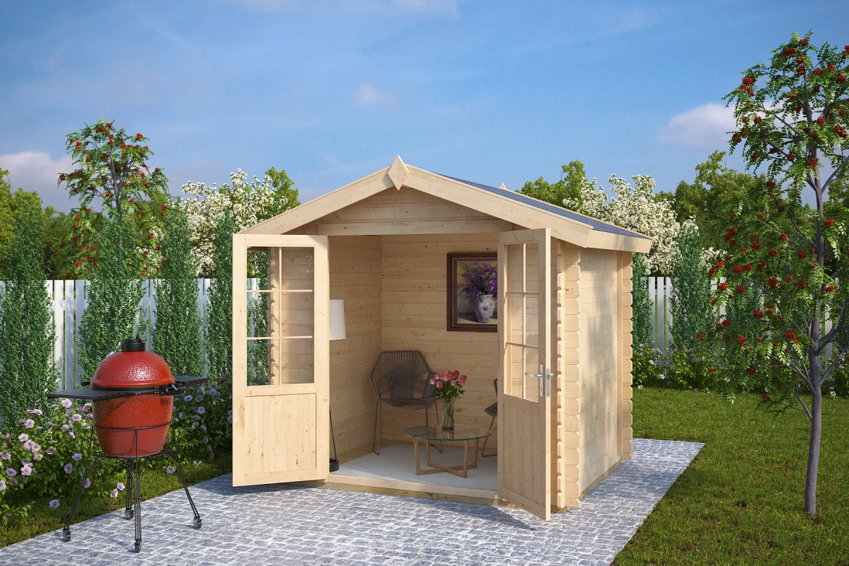 8x6 shed anita s 4m 28mm 2 5 x 2 m summer house 24 - Garden sheds m x m ...