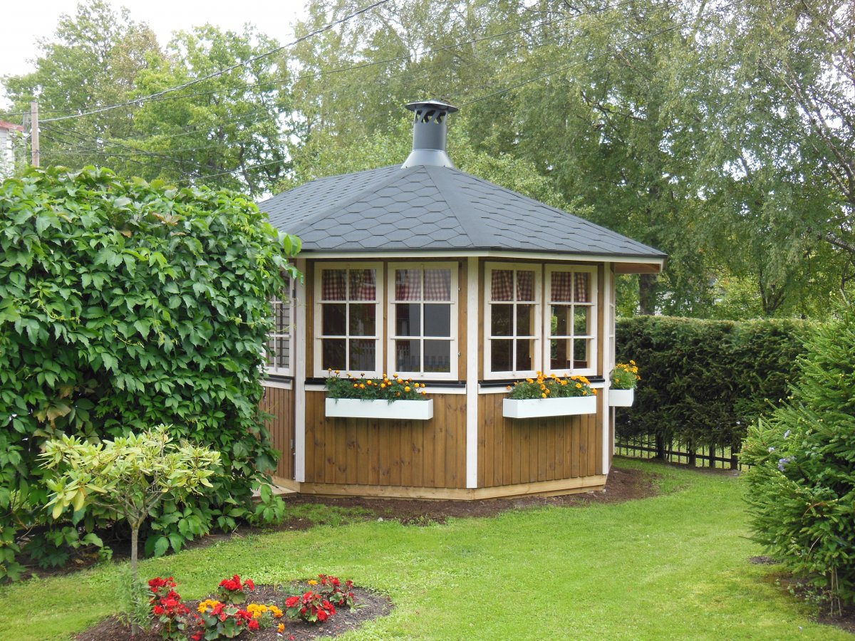 Large Garden Bbq Hut Albatross 15m 178 21mm 5 4 X 3 3 M