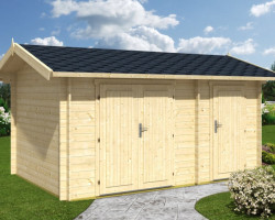 Log Cabin Double Shed Fred