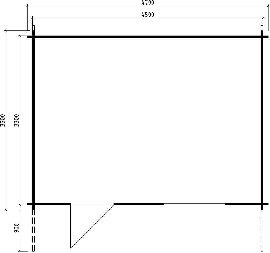 Summerhouse Weekend Ground Plan