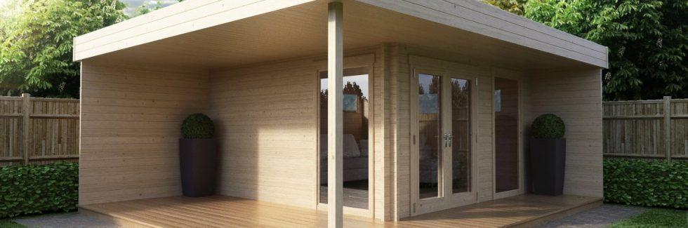 Garden office Summerhouse Hansa Lounge