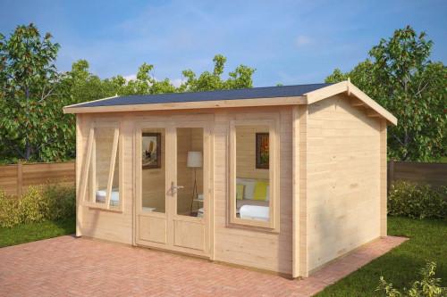 Modern Log Cabin Eva D