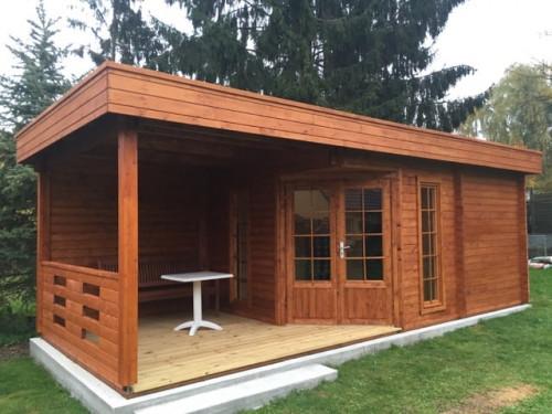 Modern Garden Sauna Paula