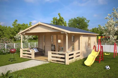 Summerhouse with Veranda Henry