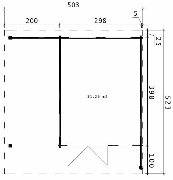 Hansa Lounge ground plan
