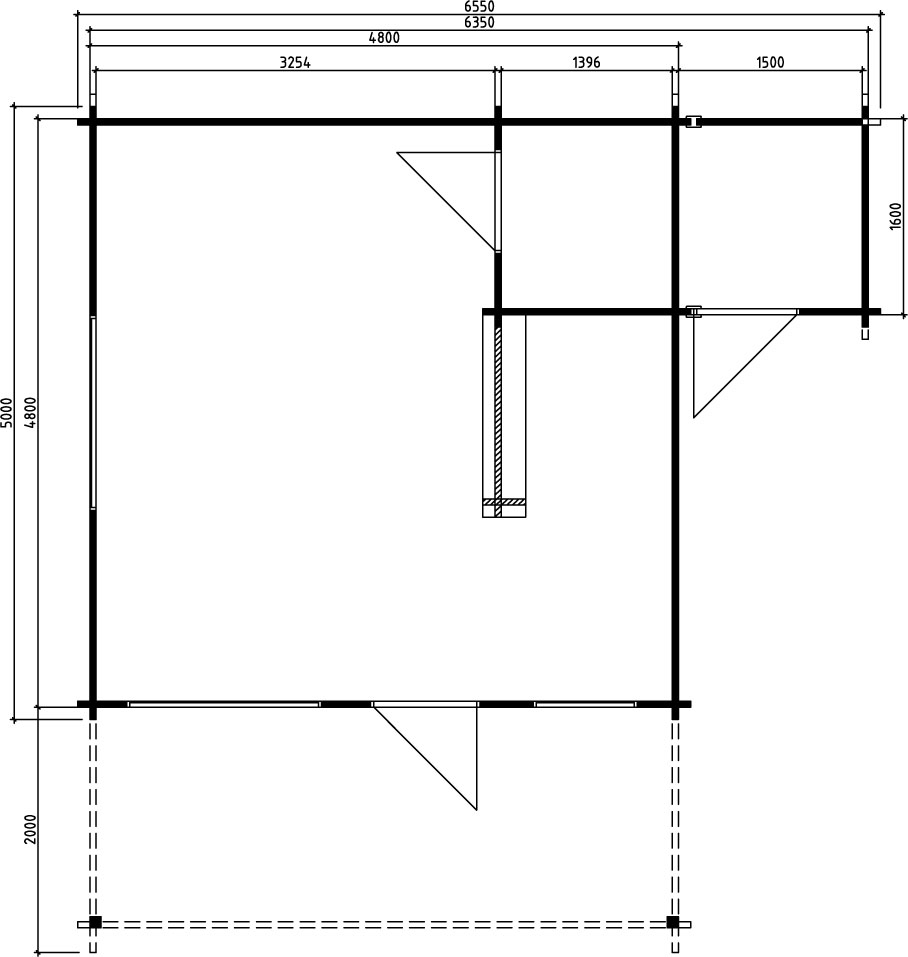 Summer House With Shed Jan Ground Plan