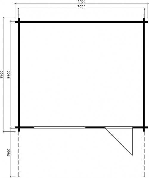 Garden Summer House Johanna A Ground Plan