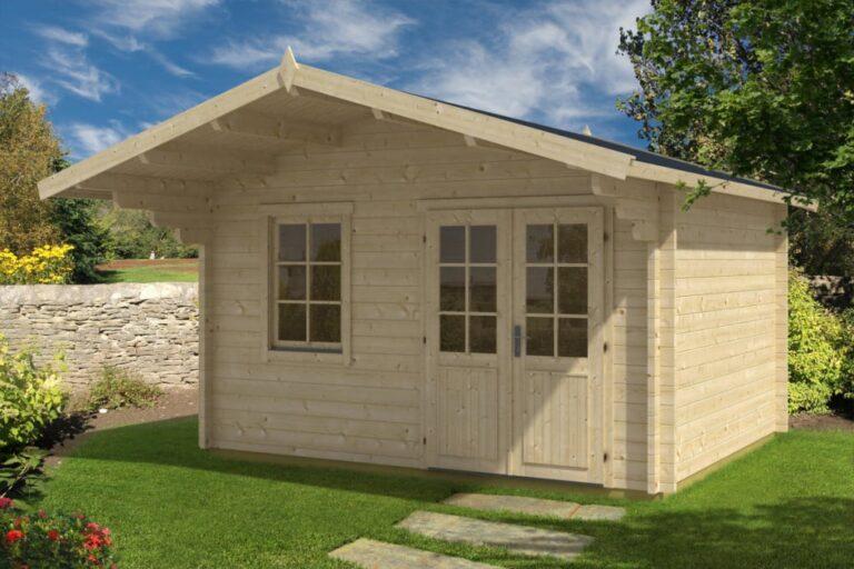 Garden Log Cabin Johanna B