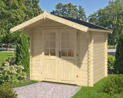Log Cabin Garden Room Lily-S