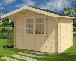 Log Cabin Garden Office Lily-XL