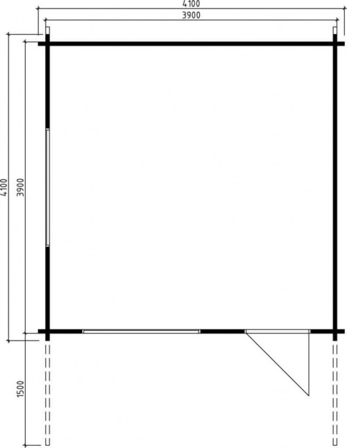 Garden Summer House Marcus A Ground Plan