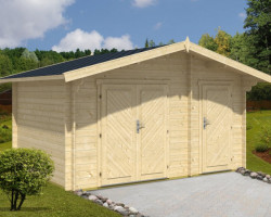 Log Cabin Double Shed Mike