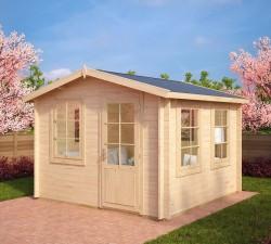 garden summer house nora c 85m 40mm 32 x 32 m big garden office ian