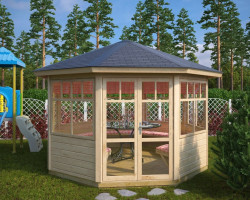 Octagonal Summerhouse Paradise L