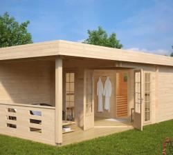 Outdoor Sauna Cabin Paula