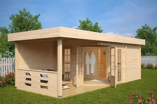 Garden Sauna Cabin Paula