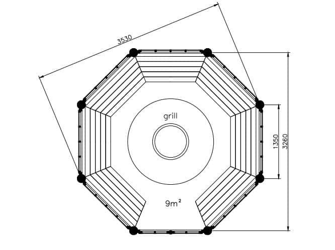 Seattle 9m2 Floor plan