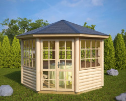 Octagonal Summerhouse Seattle L