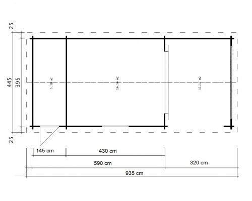 Summer House With Shed Heinz ground plan