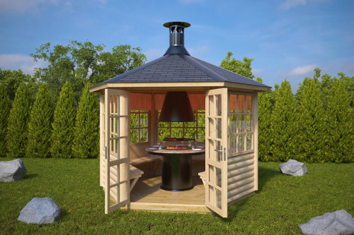 BBQ Hut Seattle 6m2