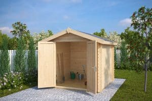 8x8 Garden Storage Shed Andy M