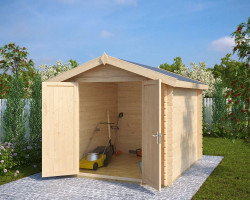10x8 storage shed Andy L