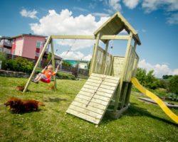 Garden Climbing Frame with Slide Carol