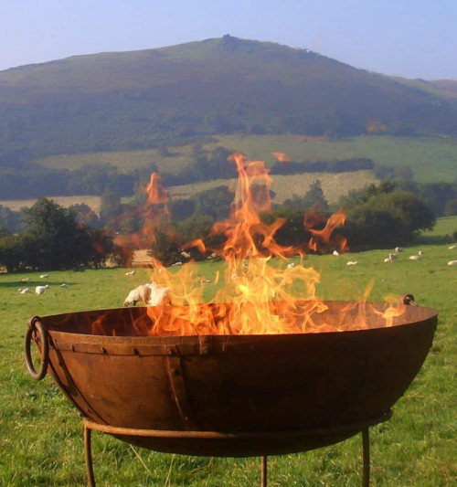 Kadai Firebowl for Outdoor Cooking