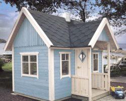 Wooden Garden Playhouse Mario