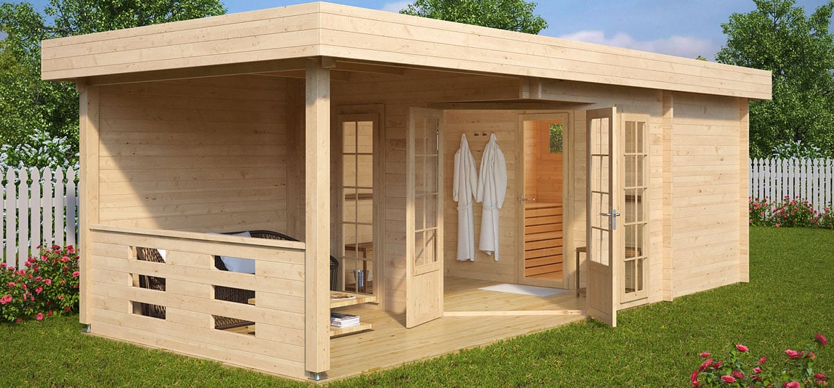 How to build a finnish sauna cabin fast and inexpensively for How to build a cottage