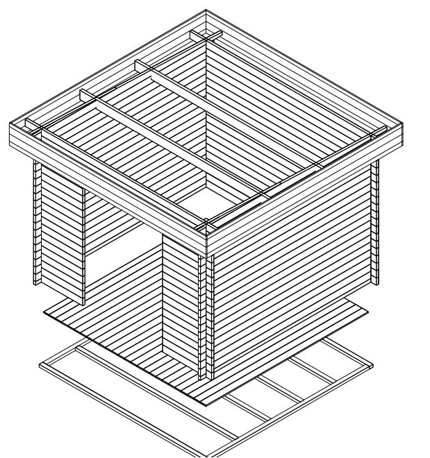 Timber Storage Shed Lucas A
