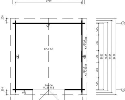 Timber Workshop Lucas F ground plan