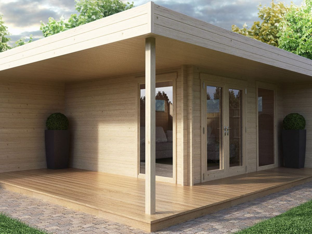 Build Your Own Garden Office Fast And Inexpensively Summer House 24