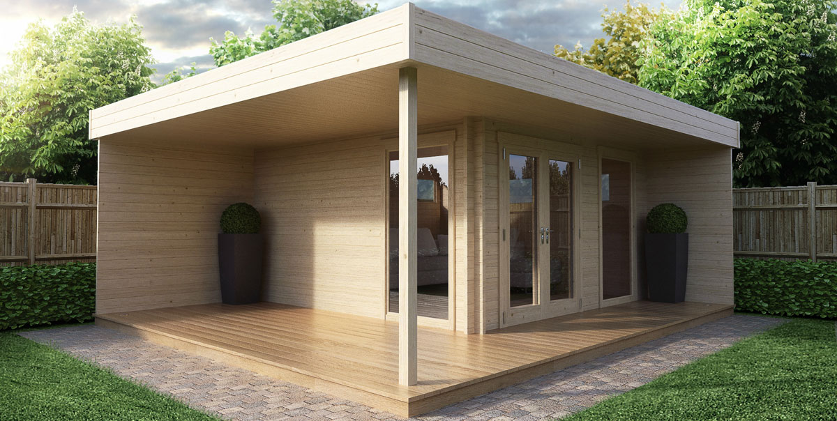 Build your own garden office fast and inexpensively for Build your house