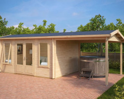 Garden Room with Canopy Eva D