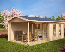 Garden Room with Veranda Nora E