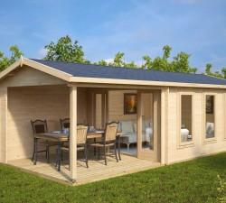 garden summer house with veranda eva e big garden office ian