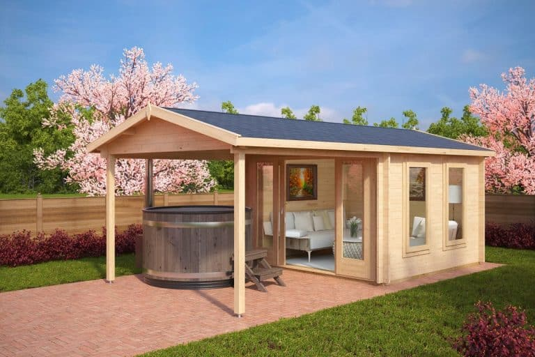Summer House with Canopy Nora E